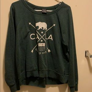 LARGE Graphic Long Sleeved